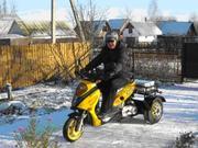 Трехколесный скутер Трайк