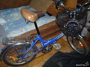 складной велосипед со скоростями ,  6 скоростей