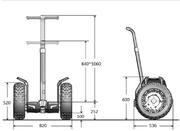 Гироскутер  CHIC-CROSS прямой конкурент Сигвей